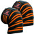 FIGHTSENSE Knee Wraps  Ideal for Squats, Powerlifting,Gym,Bodybuilding, Weightlifting, Cross Training WODs & Gym Workout Orange Color  www.fsboxing.com