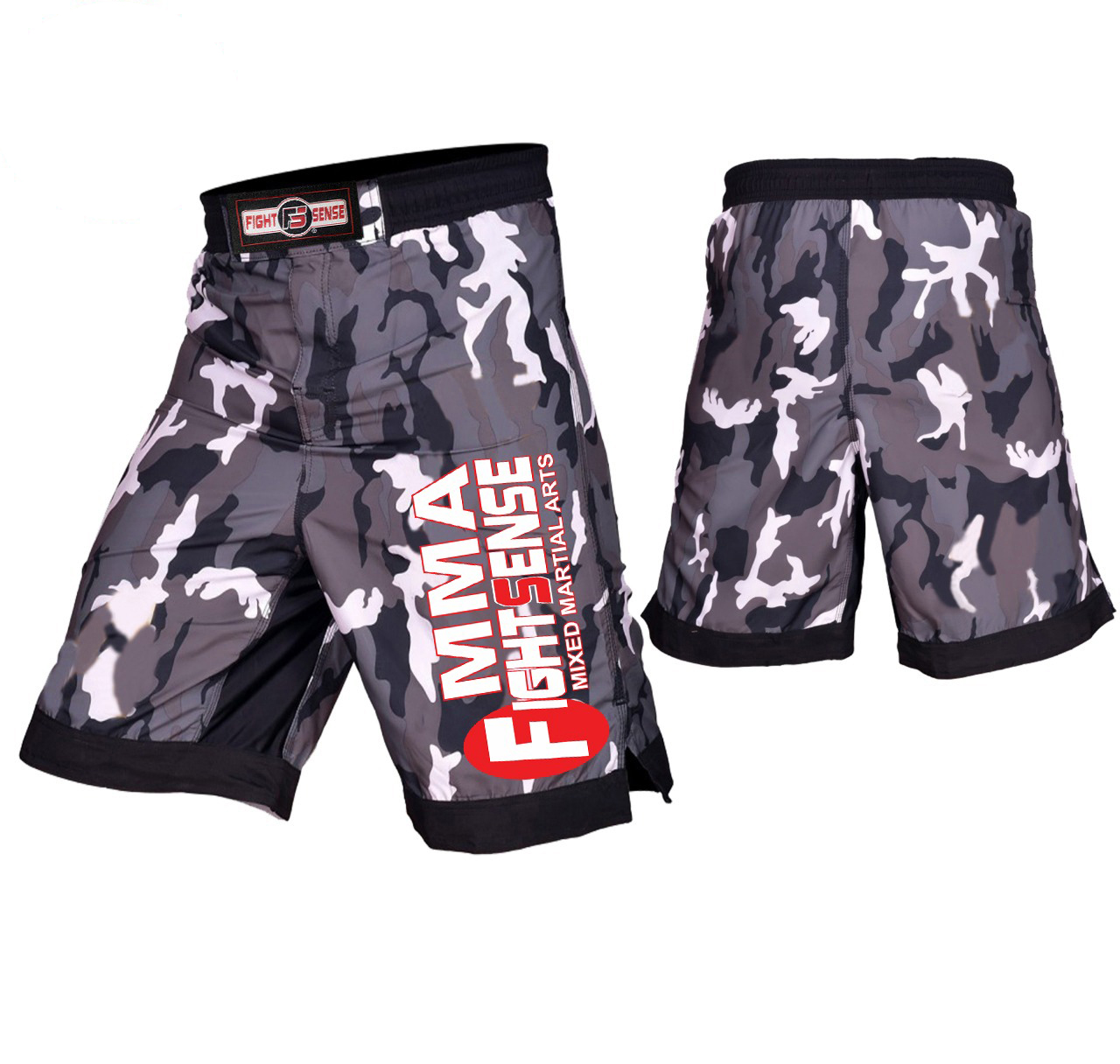 Muay Thai Fight Shorts MMA Grappling Kick Boxing Trunks Martial Arts UFC MMA