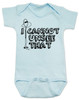 I can't unsee that, funny childbirth baby bodysuit, funny coming home from hospital baby onesie, baby can't unsee that, silly baby gift, baby bodysuit with funny saying, blue