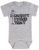 I can't unsee that, funny childbirth baby bodysuit, funny coming home from hospital baby onesie, baby can't unsee that, silly baby gift, baby bodysuit with funny saying, grey