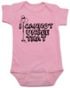 I can't unsee that, funny childbirth baby bodysuit, funny coming home from hospital baby onesie, baby can't unsee that, silly baby gift, baby bodysuit with funny saying, pink