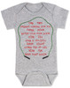 Freddy Krueger movie, freddy baby bodysuit, baby gift for parents who love horror movies, horror movie baby bodysuit, movie quote on baby bodysuit, 1 2 freddy's coming for you, song from freddy movie on baby shirt, grey