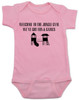 Welcome to the jungle guns and roses, classic rock themed baby gift, rock band baby onesie, Jungle Gym baby bodysuit, guns and roses baby bodysuit, funny rock and roll baby bodysuit, pink