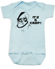 Admiral Ackbar baby Bodysuit, It's a crap baby Bodysuit, It's a trap, funny star wars baby onsie, punny baby, geeky baby gift, blue