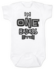 I'm ONE badass bitch baby Bodysuit, badass baby, little bitch, offensive birthday Bodysuit, badass bitch onsie