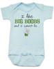 I like Big Boobs Baby Bodysuit
