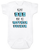 My Dad is a Mother Fucker Bodysuit, Funny offensive Baby Shower gift, daddy is a mother fucker