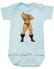 He-Man Baby Bodysuit, Master of the Universe, Classic Cartoon, Little Bodies onsie, blue