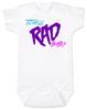 Totally RAD Baby, 80's Baby Bodysuit