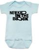 New Kid on the Block baby Bodysuit, NKOTB, New Kids on the Block Band, 80's Baby Onsie, blue