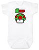 1-UP Baby Bodysuit, Super Mario Mushroom 1 up, Personalized Birthday Bodysuit, Personalized Geeky baby, Personalized Gamer Baby, Gamer Baby Birthday, Geeky Gamer Bodysuit, Video Game baby Bodysuit, 80's Baby Bodysuit