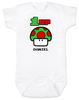 1-UP Baby Bodysuit with custom name, Super Mario Mushroom 1 up, Personalized Birthday Bodysuit, Personalized Geeky baby, Personalized Gamer Baby, Gamer Baby Birthday, Geeky Gamer Bodysuit, Video Game baby Bodysuit, 80's Baby Bodysuit