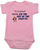 3's a crowd baby Bodysuit, I'm the life of the party baby Bodysuit, funny baby gift for third child, three's a crowd, Whatever dude baby onsie, 3rd child is the best, pink