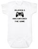 Player has entered the gamePlaystation babyGamer BabyGeeky Gamer BodysuitVideo Game baby Bodysuit80's Baby Bodysuit