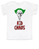 Kid Chaos Baby shirtThe Joker Baby t-shirtJoker baby TeeHalloween toddler shirtUnique Halloween shirtFunny baby clothesOffensive baby shirt