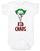 Kid Chaos BodysuitThe Joker BodysuitHalloween baby BodysuitJoker Baby bodysuitUnique Halloween shirtFunny baby clothesOffensive baby Bodysuit