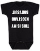 Kegstand Bodysuit, Inappropriate baby clothes, baby shower gag gift, punk rock baby, Rock n Roll Baby bodysuit, Badass baby clothes, rock and roll infant creeper, hardcore baby, hilarious Bodysuit, Keg Stand Bodysuit, black