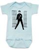 Elvis Presley jailhouse rock, Jailhouse Rock Baby Bodysuit, elvis baby bodysuit, classic rock and roll baby Bodysuit, Elvis dancing baby onsie, blue