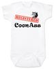 Registered Coon Ass Baby Bodysuit, Coon-Ass, Certified Coon Ass, Cajun baby, born in Louisiana, Registered coon-ass