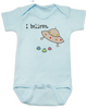 I believe baby Bodysuit, UFO believer, aliens exist, life on other planets, blue