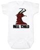 Hell Child Baby Bodysuit, Wild Child, crazy baby, Little Rebel, demon spawn, devil baby