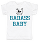 Badass toddler shirt, Personalized badass boy toddler t-shirt, customized cool kid baby shower or birthday gift, punk rock kid tee with with Skull and crossbones