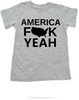 America Fuck Yeah toddler shirt, American pride, funny patriotic toddler t-shirt, badass american kid, 4th of july toddler shirt, memorial day toddler shirt, veterans day toddler shirt, Team America song, Team America: World Police Movie, grey