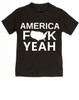 America Fuck Yeah toddler shirt, American pride, funny patriotic toddler t-shirt, badass american kid, 4th of july toddler shirt, memorial day toddler shirt, veterans day toddler shirt, Team America song, Team America: World Police Movie, black