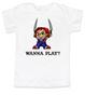 Chucky toddler shirt, Chucky kid tee, Unique Halloween toddler shirt, horror movie toddler t-shirt, Chucky Wanna Play?, white
