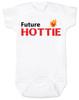 Future Hottie Baby Bodysuit, Little Cutie, Future Stud, Future Supermodel, Very Attractive baby onsie