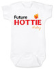 Future Hottie Baby Bodysuit, Little Cutie, Future Stud, Future Supermodel, Very Attractive baby onsie, Personalized with custom name
