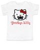 Goodbye Kitty toddler shirt, Hello Kitty Vampire toddler t-shirt, Goodbye Kitty kid tee, Cute Halloween toddler shirt