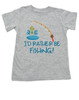 I'd Rather Be Fishing Toddler Shirt, Daddys Fishing Buddy, future fisherman, little kid fishing shirt, nature baby, mommys fishing buddy, gone fishin, take me fishing, outdoor adventure toddler gift, fishing toddler gift, parents who love to fish, fishing with dad, here fishy fishy, grey