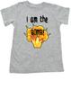 I am the bomb toddler shirt, I'm the bomb toddler t-shirt, Bomb ass kid, grey