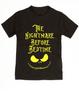 Nightmare before bedtime toddler shirt, nightmare before christmas, jack the pumpkin king, black
