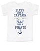 Sleep Like A Captain, Play Like a Pirate, wipe me booty, Aaaaar toddler shirt, Pirate kid, nautical toddler t-shirt, Work Like a Captain Play Like a Pirate, Sailor kid t shirt, funny pirate toddler shirt