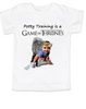 game of thrones toddler shirt, potty training is a game of thrones, funny toilet training, poop is coming, little lannister, game of thrones toddler shirt, funny GoT shirt for kids