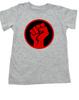 power fist toddler shirt, power to the little people, protest toddler shirt, toddler anarchy, Power fist kid shirt