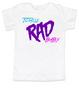 Totally RAD toddler shirt, 80's toddler shirt, cool retro kid shirt, totally rad kid t-shirt
