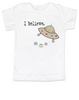 I believe toddler shirt, UFO believer toddler, aliens exist toddler shirt, funny spaceship toddler t-shirt, funny alien kid tshirt