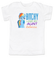 Bitchy like my aunt toddler shirt, Personalized cool aunt toddler t-shirt, custom aunt kid tee, personalized aunt toddler shirt, badass aunt, I love my aunt, my little pony, Rainbow Dash toddler shirt, custom name, white