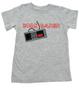 Born Gamer toddler shirt, Video Game toddler t-shirt, nintendo toddler shirt, classic gamer kid t shirt, geeky gamer parents, personalized gaming kid tee, grey