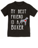 My Best Friend is a Boxer toddler shirt, Boxer Puppy Love toddler t-shirt, kids Best Friend, Fur baby best friend, Love my doggy toddler shirt, personalized dog lover toddler shirt, unique baby shower or birthday gift, personalized toddler birthday gift, cute I love my dog kid clothes, badass dog toddler shirt, Rescue dog toddler shirt, personalized dog toddler shirt, black