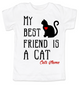My Best Friend is a Cat toddler shirt, Kitty Cat Love toddler t-shirt, kids Best Friend, Fur baby best friend, Love my Cats toddler shirt, personalized cat lover toddler shirt, unique baby shower or birthday gift, personalized kid birthday gift, cute I love my cat kid clothes, badass cat toddler shirt, Rescue kitty toddler shirt, toddler shirt with custom name