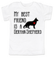 My Best Friend is a German Shepherd toddler shirt, Shepherd Puppy Love toddler t-shirt, kids Best Friend, Fur baby best friend, Love my doggy, personalized dog lover toddler shirt, unique baby shower or birthday gift, personalized kid birthday gift, cute I love my dog kid clothes, badass dog toddler shirt, Rescue dog toddler shirt, personalized dog kid shirt, toddler shirt with custom dog name