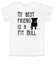 kids Best Friend, Love-a-bull toddler shirt, personalized dog lover toddler shirt, cute pit bull kid clothes, badass dog toddler shirt, I love my pit bull toddler shirt, pit bull best friend toddler shirt