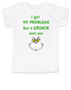 Grinch Problems toddler shirt, Christmas Grinch Bodysuit, Funny Christmas toddler shirt, 99 Problems, Jay-Z, The Grinch toddler t-shirt
