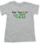 Nap Time is at 420 toddler shirt, stoner parents, Pot toddler t-shirt, funny weed toddler shirt, funny toddler shirt about marijuana, grey