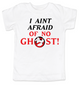 Ghostbusters toddler shirt, Halloween toddler t-shirt, classic sci-fi movie kid t shirt, I Aint Afraid of No Ghost