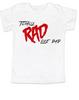 Rad like Dad, Totally RAD toddler shirt, 80's toddler t-shirt, funny retro kid shirt, Rad like Dad kid shirt
